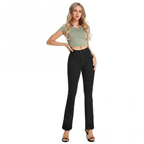 CenFeng Women's Ripped Destroyed Jeans Stretch Skinny Denim Pants