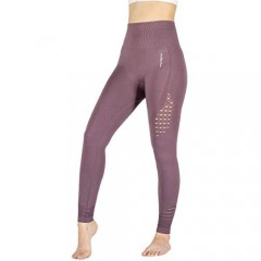 Headquarters High Compression Athletic Waisted Waist Leggings Tights Women Tummy Control Yoga Workout Running Pants Pant Soft