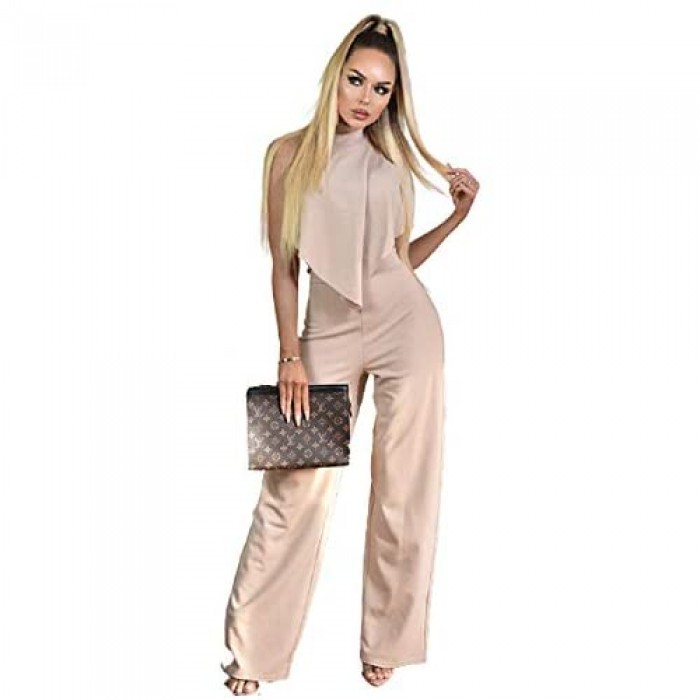 Malabay Front Frill Jumpsuit