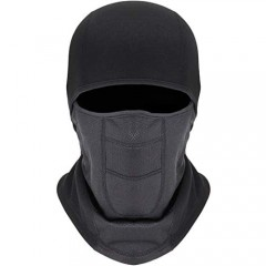 Balaclava Ski Mask - Winter Motorcycle Snowboard Face Mask Windproof with Breathable Vents for Men Women